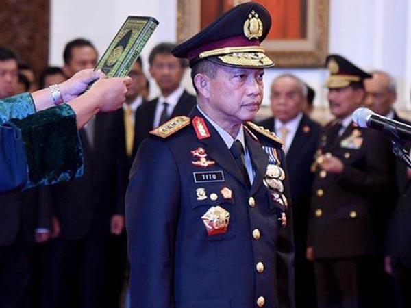 Resmi Dilantik, Tito Karnavian Siap Buru Teroris Santoso Hidup atau Mati!