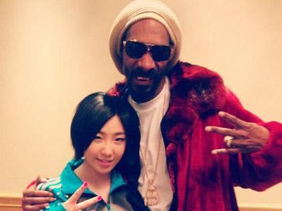 Lucunya Minzy 2NE1 dan Snoop Dogg Menari Bersama Seperti Ayah dan Anak