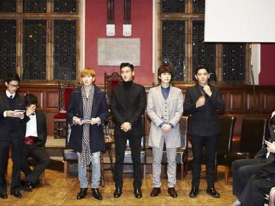 Super Junior Sukses Berikan Kuliah Khusus Tentang K-Pop Pada Mahasiswa Oxford University!