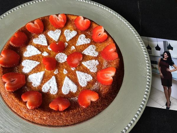 Mudahnya Membuat Yoghurt Mochi Cake A la Chef Farah Quinn