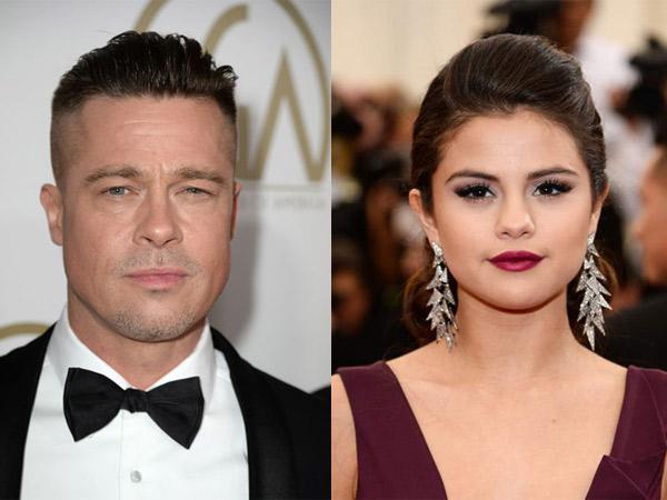 Bukan Karena Penyakit, Benarkah Brad Pitt Penyebab Selena Gomez Direhabilitasi?
