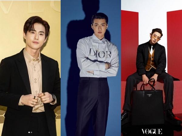 9 Idola K-Pop Pria yang Jadi Duta Global Brand Fashion Mewah