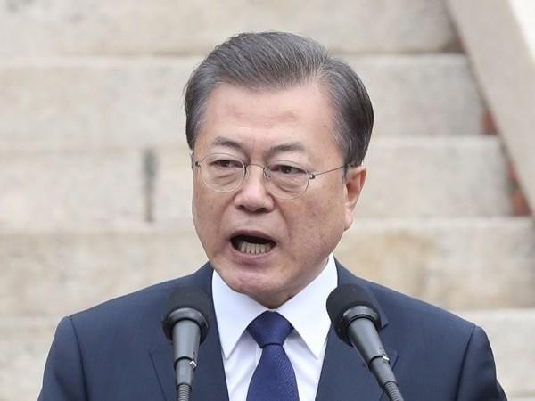 Pidato Diplomatis Moon Jae In Terkait Virus Corona yang Mewabah di Korea Selatan