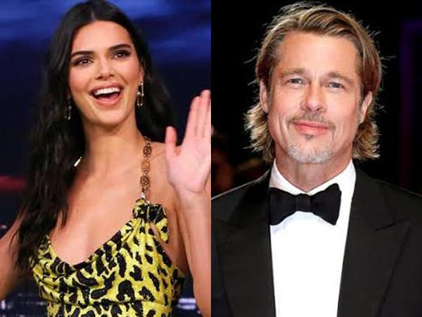 Ngefans Berat, Kendall Jenner Malah Kabur dari Brad Pitt