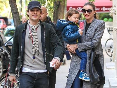 Meski Bercerai, Orlando Bloom dan Miranda Kerr Terlihat Menghabiskan Waktu Bersama Sang Anak