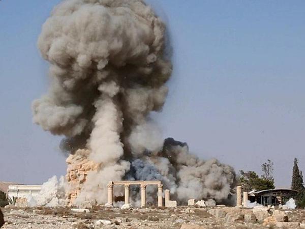 Sebelum Ledakkan Kuil Palmyra, ISIS Pamer Foto Bom Siap Ledak