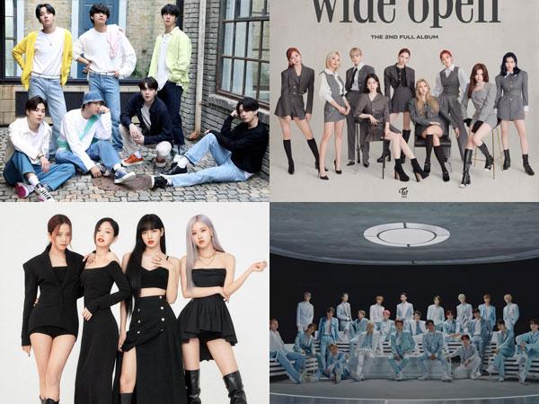 Inilah Grup K-Pop yang Sukses Tempati Chart Billboard World Albums Minggu Ini