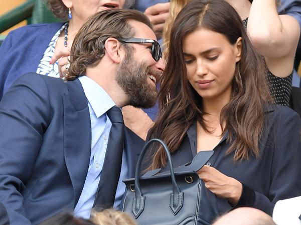 Nonton Tennis, Bradley Cooper dan Irina Shayk Tertangkap Kamera Tengah Bertengkar?