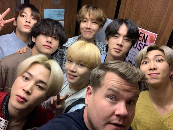 Catat Tanggalnya, BTS Akan Tampil di 'Carpool Karaoke' Bareng James Corden!