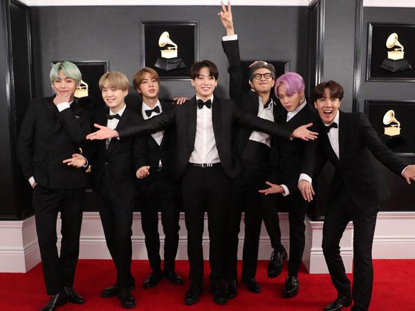 Jungkook BTS Terlihat Menangis di Grammy Awards, Air Mata Bahagia?