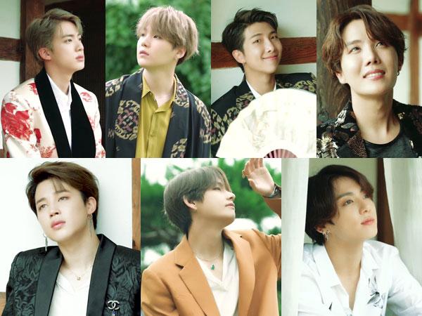 BTS Tampilkan Keindahan Tradisional Korea di Pemotretan 'Summer Package 2019'