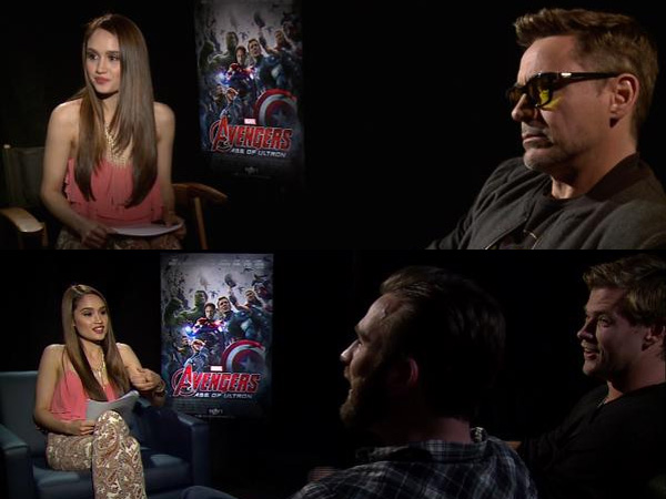 Wawancara Aktor 'The Avengers', Cinta Laura Diajak Bicara Bahasa Indonesia oleh Chris Hemsworth!