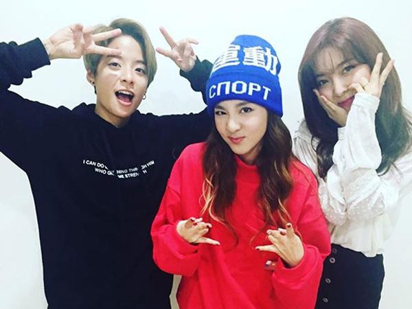 Sama-sama Debut Tahun 2009, Dara 2NE1 Akrab Dengan Luna dan Amber f(x)