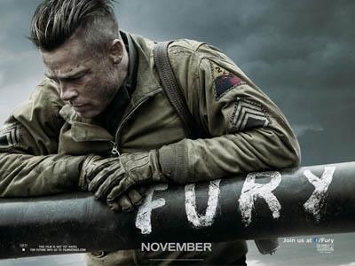 Jadi Sersan, Brad Pitt Siap 'Mati' di Trailer 'Fury'