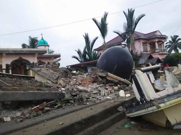 Aceh Kembali Diguncang Gempa, Sejumlah Bangunan Rubuh dan Puluhan Meninggal Dunia