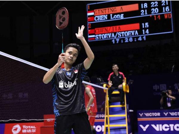 Deretan Pemain Dunia yang Dikalahkan Anthony Ginting hingga Lolos Ke Babak Semifinal China Open 2018
