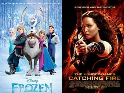 Film 'Frozen' Nyaris Singkirkan 'The Hunger Games: Catching Fire'!