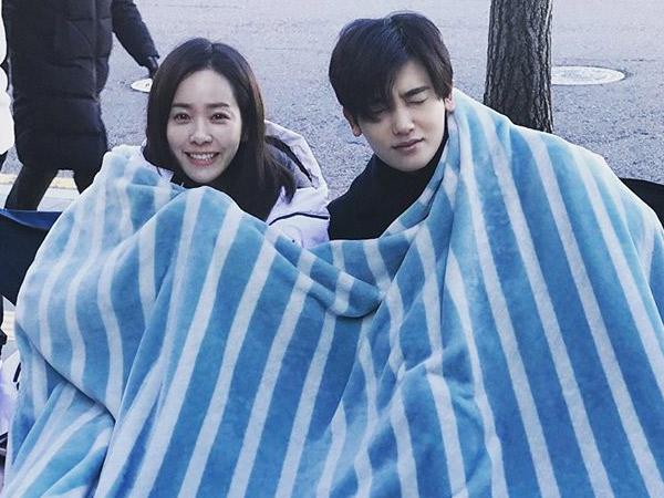 Hyungsik Pamer Kedekatan dengan Han Ji Min di Lokasi Syuting, Bikin Baper!
