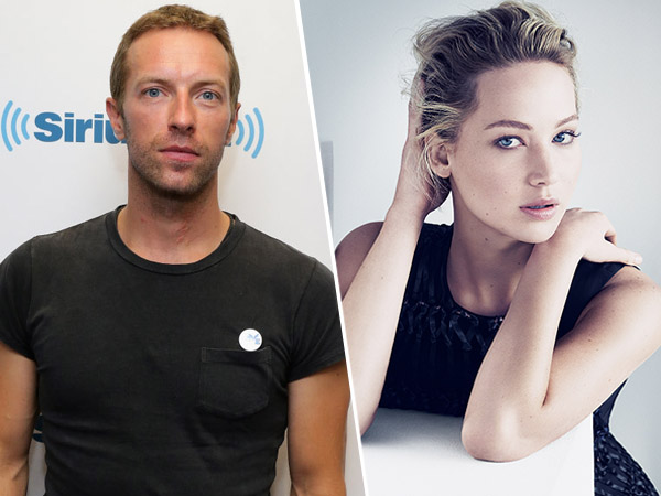 Makin Mesra, Chris Martin dan Jennifer Lawrence Tinggal Seatap?