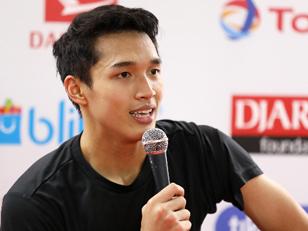 Pecah! Ternyata Teriakan Suporter Indonesia Saat Indonesia Open 2019 Buat Kuping Jojo Sakit
