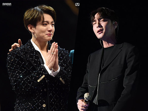 Viral Video Fokus Jungkook BTS Sangat Menghayati Penampilan Syahdu Roy Kim di MAMA 2018