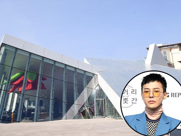 Mengintip Kafe Mewah Nan Artistik Milik G-Dragon, 'Untitled, 2017'