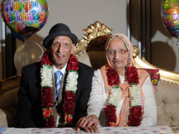 Wow, Pasangan Tertua Di Dunia Ini Rayakan Ulang Tahun Bersama