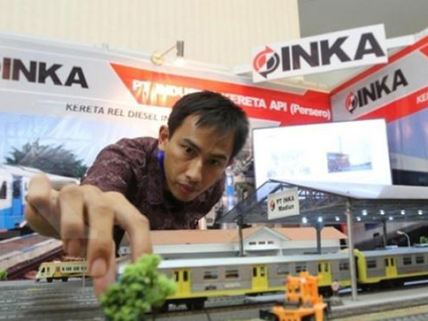 Karya Anak Bangsa, Gerbong Kereta Buatan Indonesia Ini Akan Dikirim ke Tiga Negara