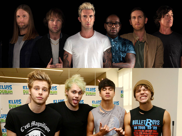 5 Seconds Of Summer dan Maroon 5 Ajak Penggemar Tampil di Sampul Album Kompilasi!