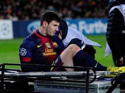 Kondisi Cedera Messi Belum Diketahui
