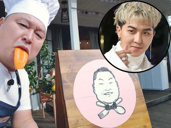 Mino WINNER Buat Kang Ho Dong Takjub dengan Bakat Gambarnya di 'Kang's Kitchen'