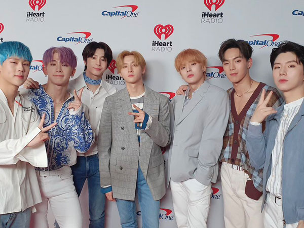 MONSTA X Dipilih Jadi Duta Kampanye Global #TOGETHERBAND PBB
