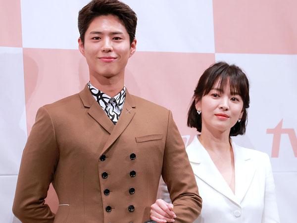 Beda Usia dengan Park Bo Gum, Song Hye Kyo Mengaku Tak Terbebani Main Drama 'Encounter'