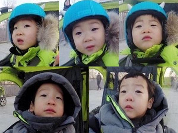 Gemasnya Saat Kembar Song Il Gook dan Lee Hwi Jae Main Kereta Sepeda Bersama