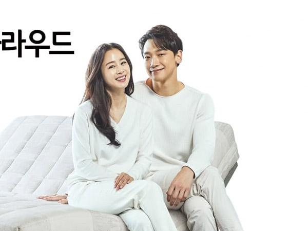 Rain dan Kim Tae Hee Tampil Harmonis di Iklan Pertama Sebagai Pasangan