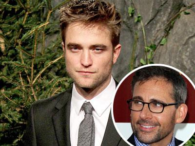 Steve Carell Sering Dikira Robert Pattinson?
