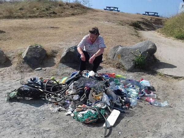 Fenomena Miris Ketika Sampah dari Korsel hingga Indonesia Hanyut Sampai ke Pesisir Inggris!