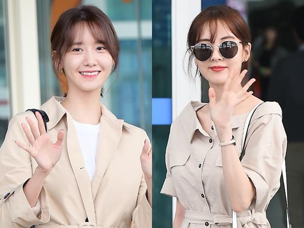 Intip Airport Fashion Kembar Seohyun & YoonA SNSD yang Jadi Perbincangan Publik