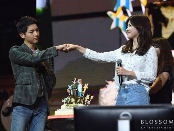 Song Hye Kyo Berikan Hadiah Manis Ini Untuk Dukung Song Joong Ki di Film Barunya