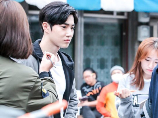 Mulai Produksi, MBC Rilis Foto Suho EXO Saat Syuting 'Star in The Universe'