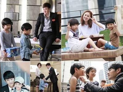 Lucunya Para Aktor The Sun of My Master Bermain Di Set Dengan Anak-Anak