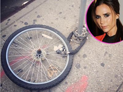 Kerja di New York, Sepeda Victoria Beckham Dicuri Orang