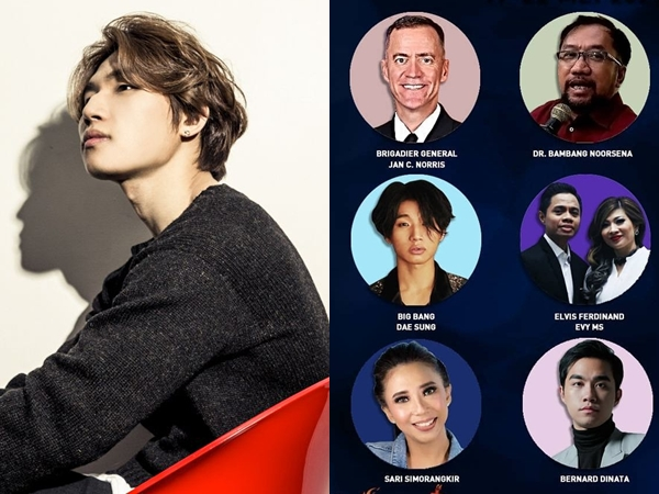 Daesung BIGBANG Jadi Bintang Tamu di Global Webinar Rohani di Indonesia