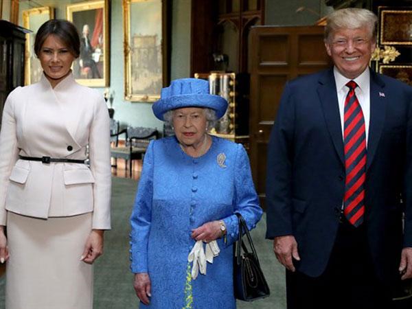 Dua Pewaris Tahta Inggris Dianggap 'Menghina' Trump di Pertemuan dengan Ratu Elizabeth II?