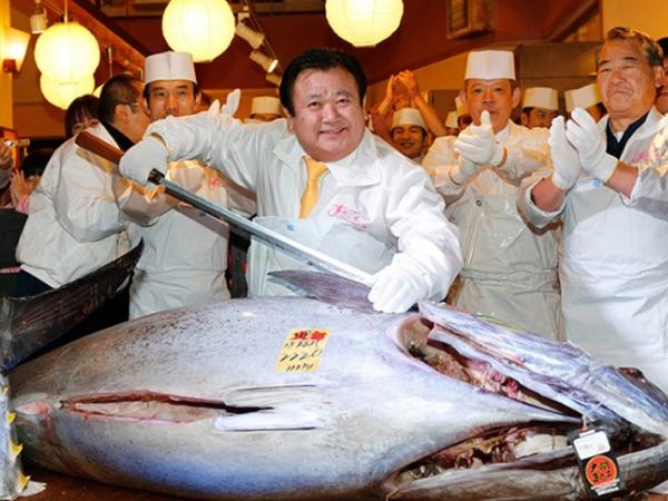Wow, Ikan Tuna Ini Terjual Seharga 480 Juta!