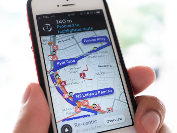 Aplikasi Waze Sudah Bisa Pandu Pengendara di Jakarta Sesuai Aturan Ganjil Genap