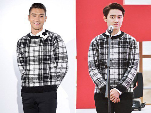 Sweater Kembar Siwon SuJu dan D.O EXO: Who Wore It Better?