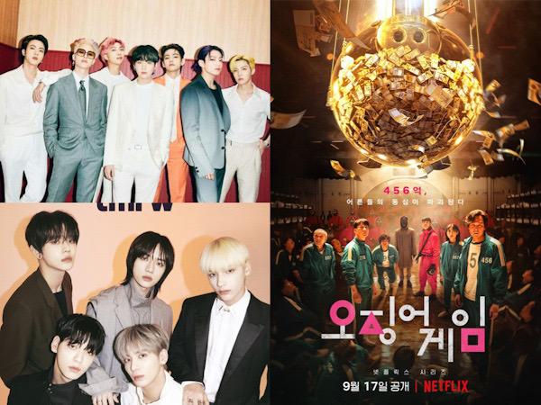 BTS, TXT Hingga Squid Game Masuk Nominasi People's Choice Awards 2021
