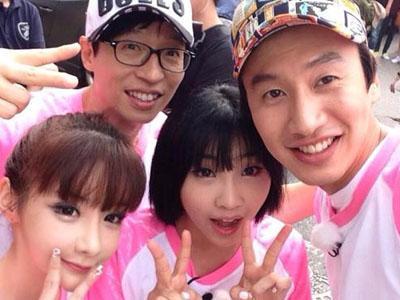 Park Bom Lindungi Minzy 2NE1 Dari Godaan Lee Kwang Soo