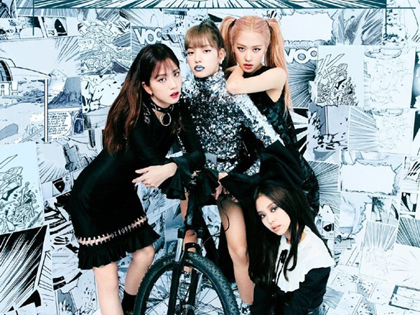 Bedah Fashion Gaya Edgy BLACKPINK di Pemotretan Majalah Jalouse China